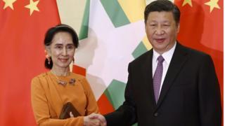 တရုတ်မြန်မာစီးပွားရေး စင်္ကြန် လမ်း စီမံကိန်းမှာပါဝင်တဲ့လုပ်ငန်း တချို့ကို စတင်လုပ်ဆောင်ဖို့ သဘောတူညီမှု ရခဲ့