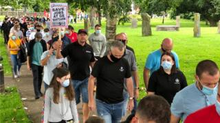 , 'Walk for jobs' march in Caerphilly over General Electric cuts