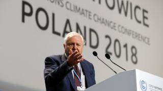 دیوید اتنبورو گفت که تغییرات اقلیمی میتواند به فروپاشی تمدنها منجر شود