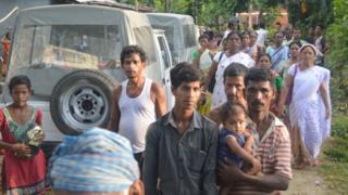 मिसामुख गांव के लोग