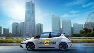 نيسان تختبر سيارات أجرة ذاتية القيادة في اليابان