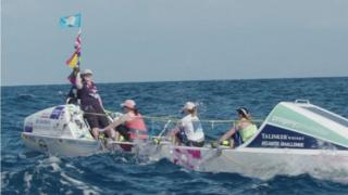 The Yorkshire Rows embark on the Atlantic race