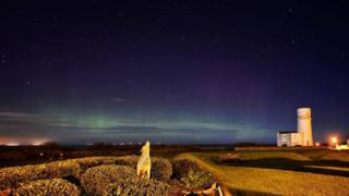 Northern Lights at Hunstanton