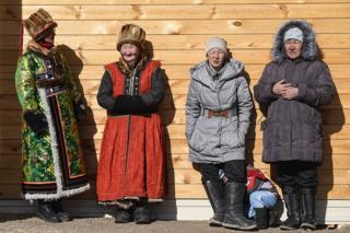 Жительницы Кош-Агачского района республики Алтай