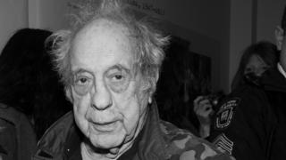 "Photographer Robert Frank attends the opening of ""Robert Frank, Books And Films, 1947 - 2016"" at The Tisch Galleries on 28 January 2016 in New York City."