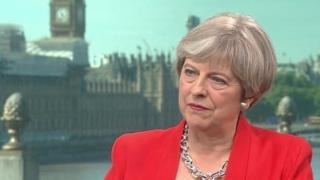 Ra'iisul wasaaraha dalka Britain Theresa May