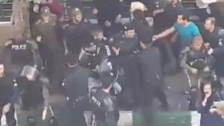 درگیری مقابل شعبه ثامن