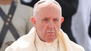 папа римский Франциск в Абу-Даби