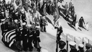 พิธีศพของอดีตประธานาธิบดีจอห์น เอฟ.เคนเนดี้