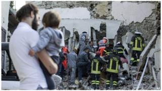 Italie, séisme