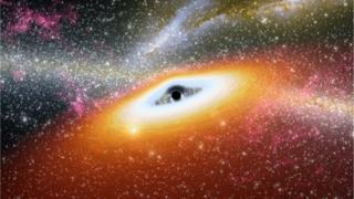 要造成巨大的时间膨胀,需要一个强劲的引力场,如黑洞。