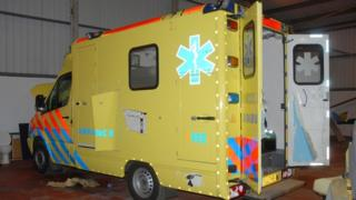 Seized ambulance