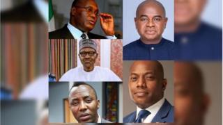 Atiku, Buhari, Sowore, Moghalu ati Durotoye