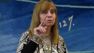 Margaret Aspinall addresses MPs