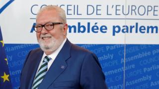 Председатель Парламентской ассамблеи Совета Европы Педро Аграмун