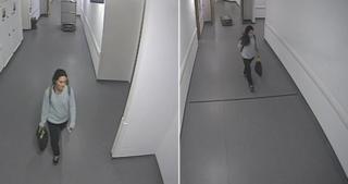 CCTV of Anna Lewis