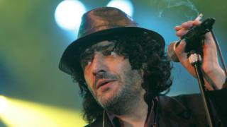 Rachid Taha on stage in 2007
