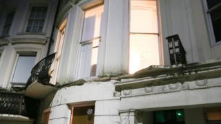 Brighton balcony collapse