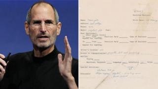Aworan Steve Jobs ati iwe-iwasẹ rẹ