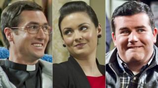 Martin Delany, Fiona Delany, Patrick Houlihan