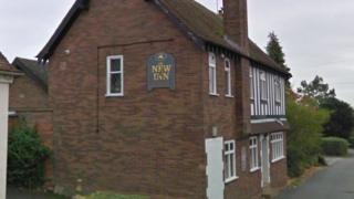 New Inn at Main Street Norton Lindsay