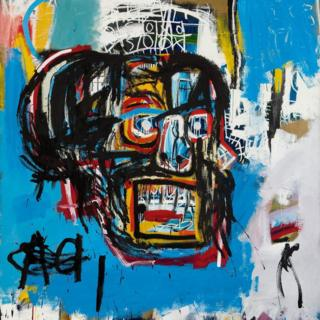 Untitled painting by Jean-Michel Basquiat