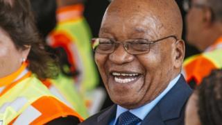 Shugaban Afirka ta Kudu Jocob Zuma