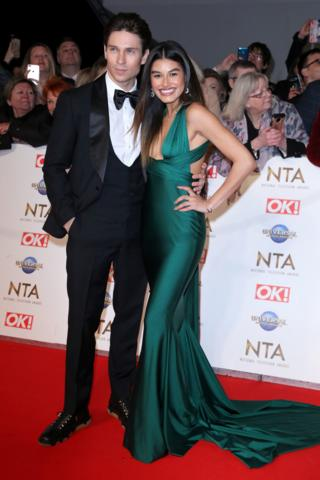 Joey Essex and Lorena Medina