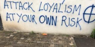 Contractor graffiti