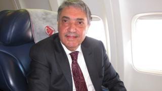 L'ancien Premier ministre algérien Ali Benflis