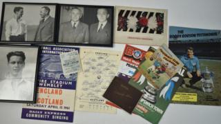 Bobby Robson memorabilia
