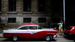Кубинские таксисты