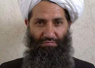 The new Taliban leader, Mullah Hibatullah Akhundzada, in an undated photo