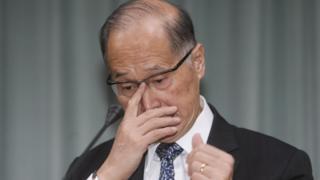 台灣外長李大維在當地時間21日上午譴責聖國遊走兩岸待價而沽,並深表遺憾和譴責。