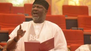 Dino Melaye for senate house dey talk