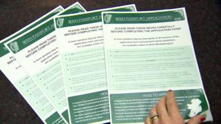 In August the Irish Department of Foreign Affairs in Dublin reported a sharp rise in applications for Irish passports by people from Northern Ireland