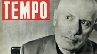 Última imagen de Mussolini