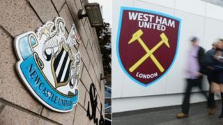 Tambarin kungiyoyin Newcastle da West Ham