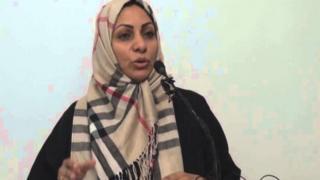 File photo of Ebtisam al-Saegh