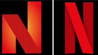 Prolific North logo and Netflix icon - both a large red letter 'N' on a black background