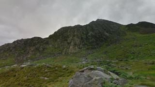 Jane Wilson fell and died while heading across Tryfan's west face