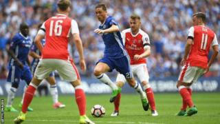 Nemanja Matic yigeze kumenyerezwa na Mourinho akina mu murwi Chelsea