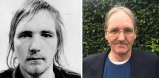 Paddy Armstrong then and now