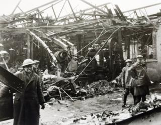 Damage to the factory