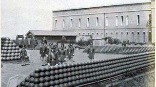 soldiers on Alcatraz