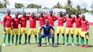 Guinea U-17s team