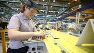 Apprentice at Airbus in Flintshire