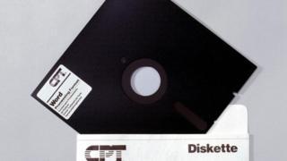 القرص المرن floppy disk