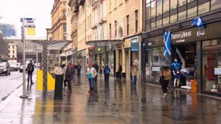 Argyll Arcade on Argyle Street