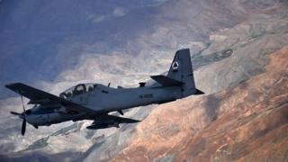 Super Tucano A-29 aircraft